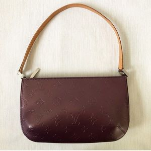 Louis Vuitton Vernis Purple Mat Fowler